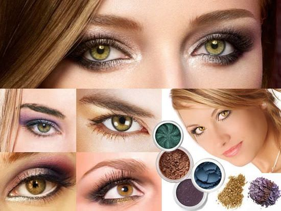Makeup for hazel eyes and dark hair