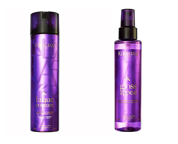 Средства Kerastase Couture Styling Gloss Appeal Instant Shine and Topcoat Spray